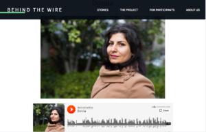 Behind the Wire website